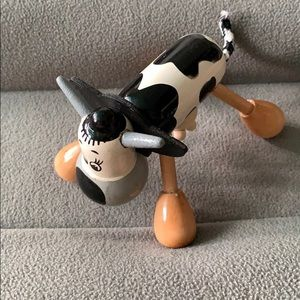 Cow wooden massager